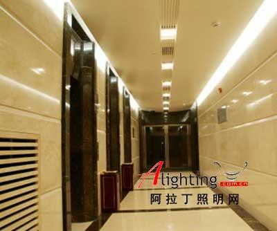 云南红塔集团总部行政办公楼室室内照明效果