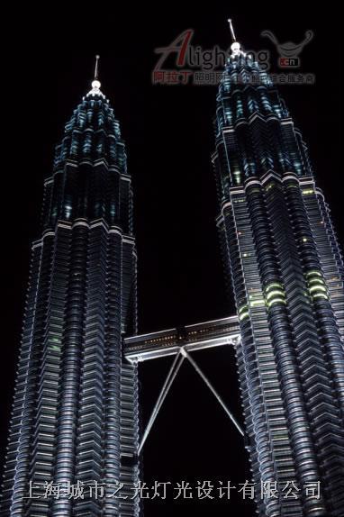 吉隆坡双塔 马来西亚-(中法合资)上海城市之光灯光