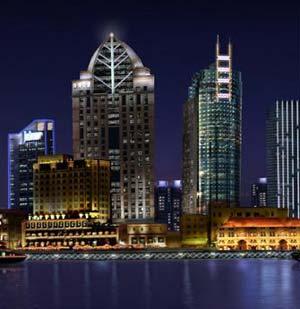 上海北外滩多维照明规划设计 组图 阿拉丁照明