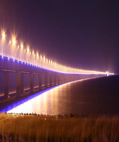 东海大桥照明效果