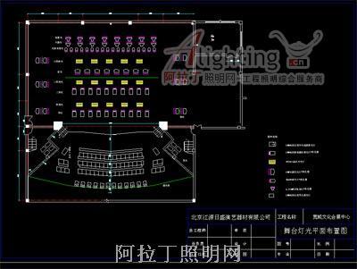 会展文化中心的舞台灯光设计