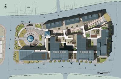 园林景观设计平面图,校园景观设计平面图,景观广场设计平面