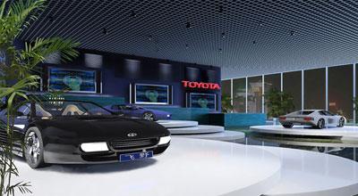 汽车展厅照明设计效果图范例(组图)