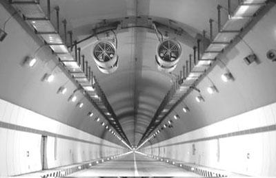 秦岭终南山公路隧道照明设计(组图)