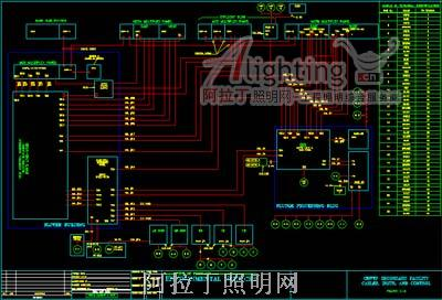 28张国外电气照明系统控制图