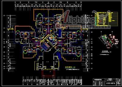 高层住宅楼的电气照明施工图