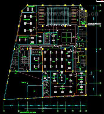 办公大楼/办公大楼一层为营业厅,二层为业务部门,三层为行政办公部门,...