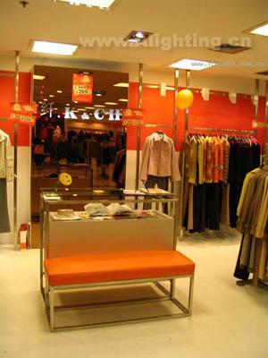 商业服饰店铺照明设计