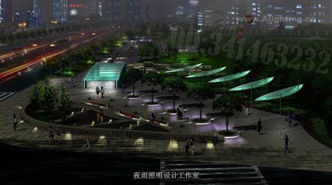 南京园林灯光景观效果设计