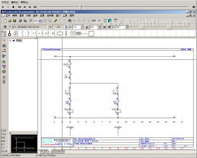 电子绘图软件pcschematic