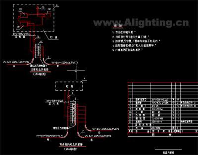 照明综保内部接线图
