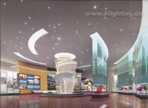 东莞市科技馆陈列专业照明设计(组图)图片