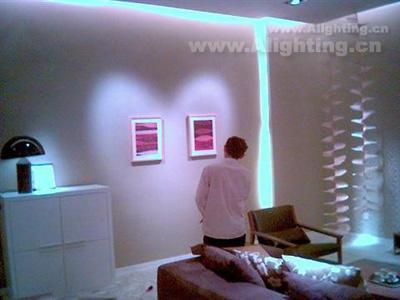 广州尚景家俱总部展厅照明设计
