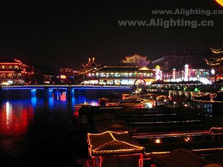 南京夜景照明 让古建与夜共辉煌