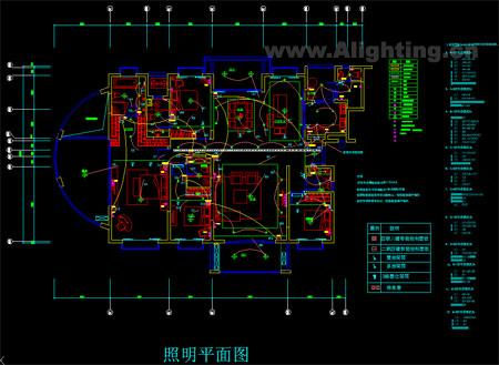 别墅智能灯光控制图