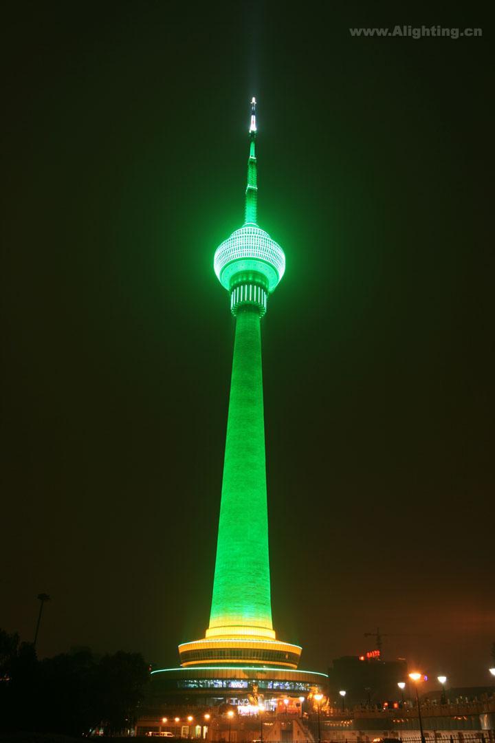 北京中央电视塔照明工程