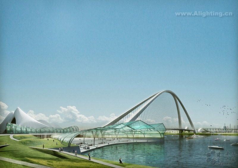 """""""迪拜棕榈岛工程""""是目前世界上最大的陆地改造项目,由3处大棕榈树状"""