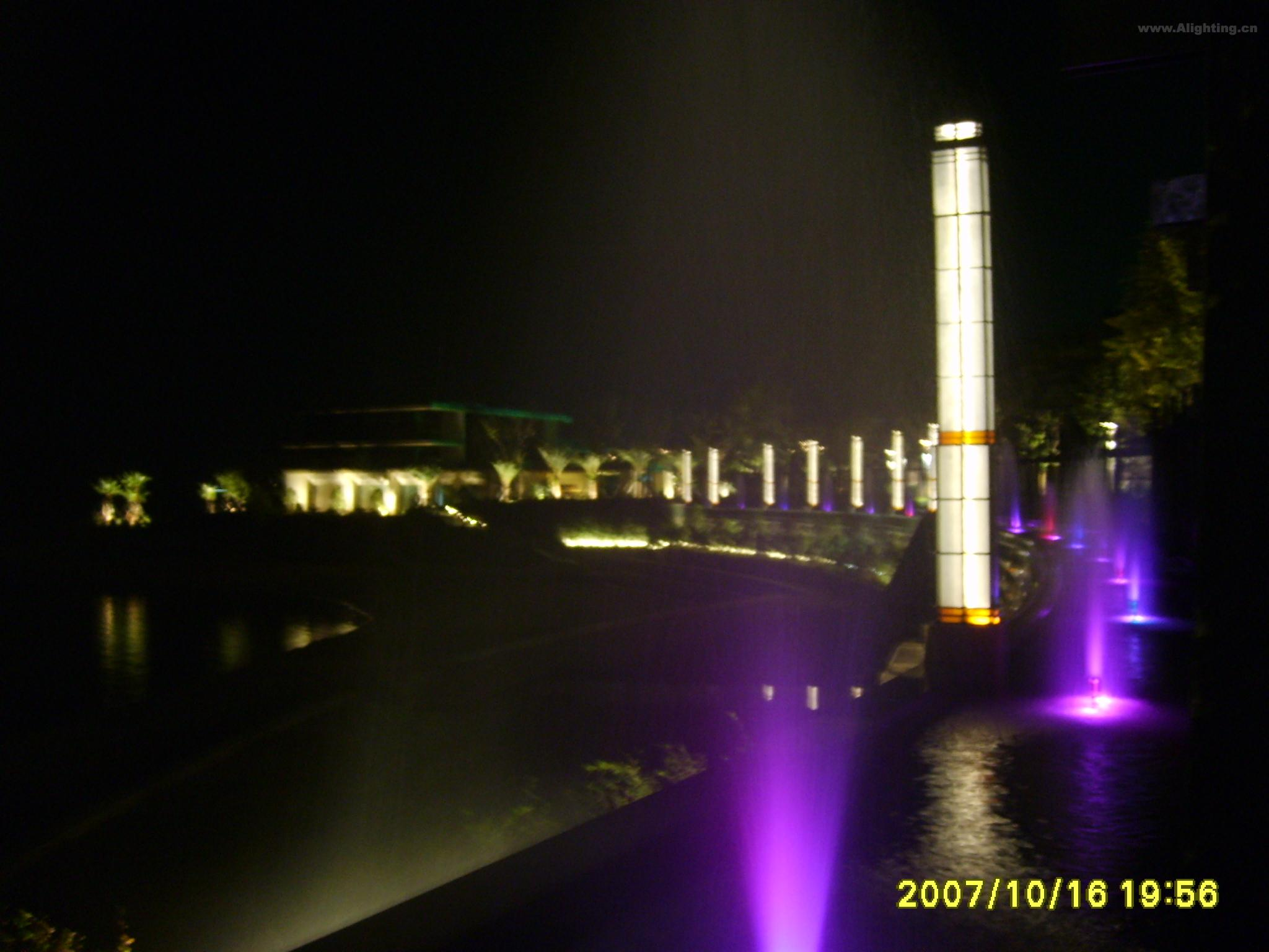 绿城千岛湖度假花园照明工程