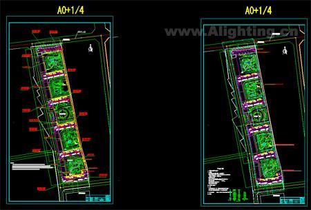 小区路灯工程全套施工图
