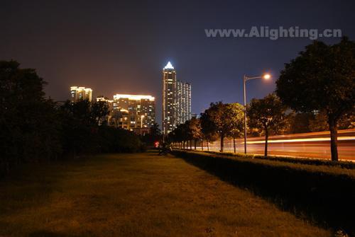 广州二沙岛夜景照明设计欣赏
