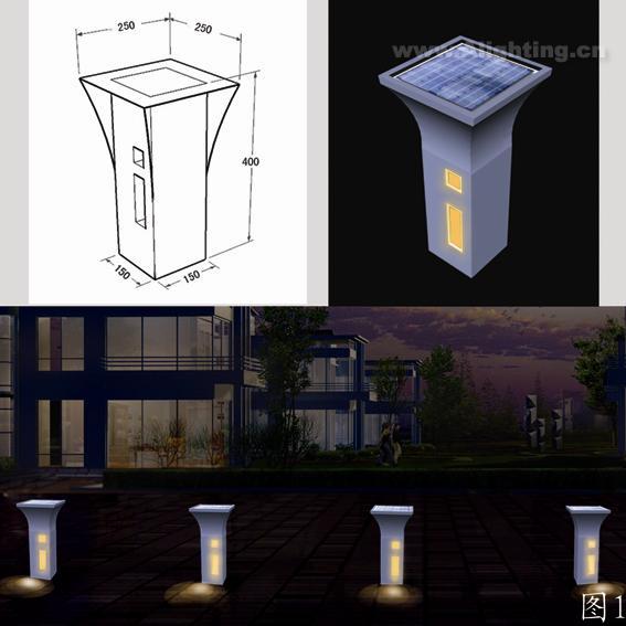 景观垃圾桶手绘图设计