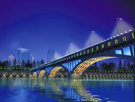 桥梁夜景照明设计