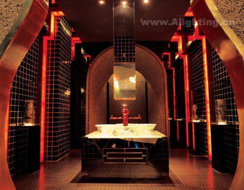中式餐厅照明设计 非一般感觉