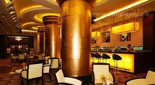 0次 网友评论:0条 柬埔寨金边金殿酒店赌场室内照明,国外照明设计图片