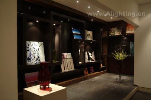 萨米特陶瓷展厅照明设计案例(组图)