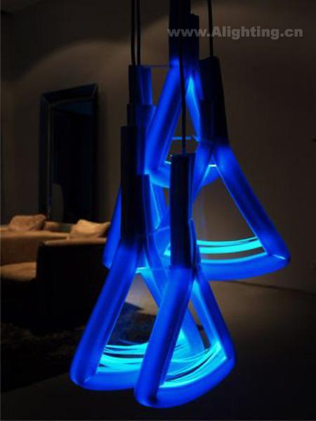 国外奇特灯具设计 玩转led照明(组图)-照明频道