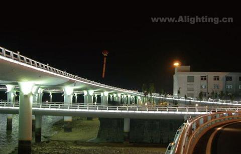 中山桥手绘效果图