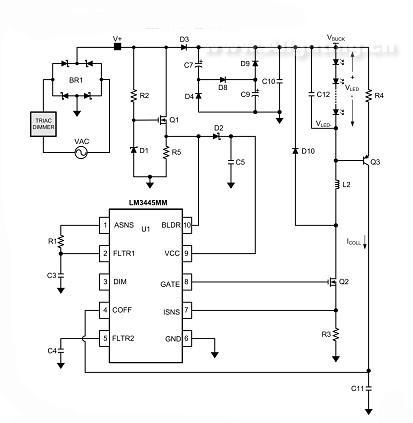 芯片的典型应用电路图