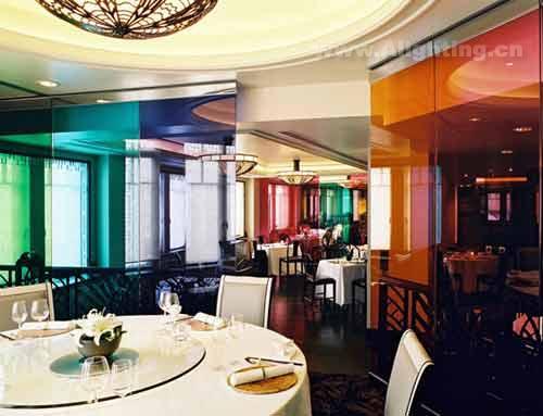 上海高级餐厅黄埔会照明设计欣赏(组图)