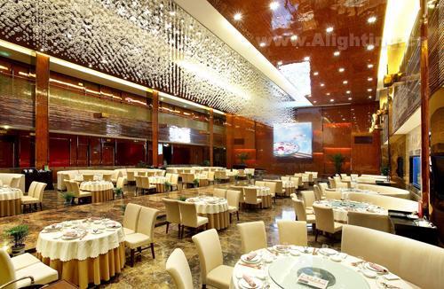绍兴王子国宴餐厅照明设计欣赏(组图)