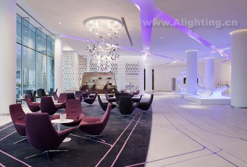 亚斯酒店室内装饰照明设计欣赏(组图)