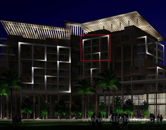 曼湾五星度假酒店照明设计方案(图)