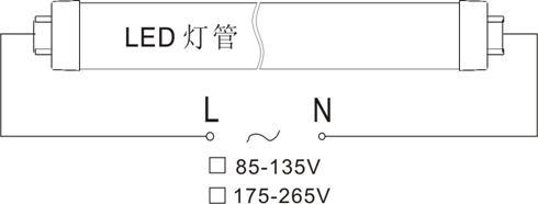 led灯管18w电路图