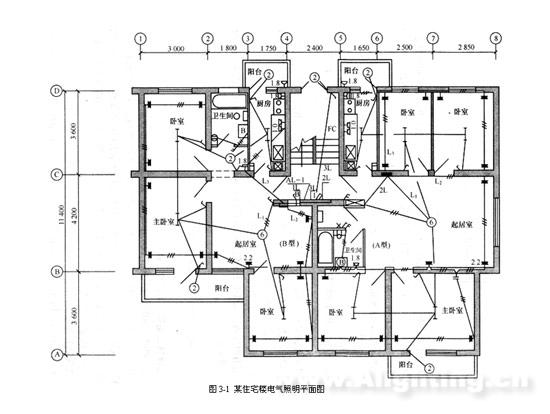 住宅楼电气照明工程施工图预算