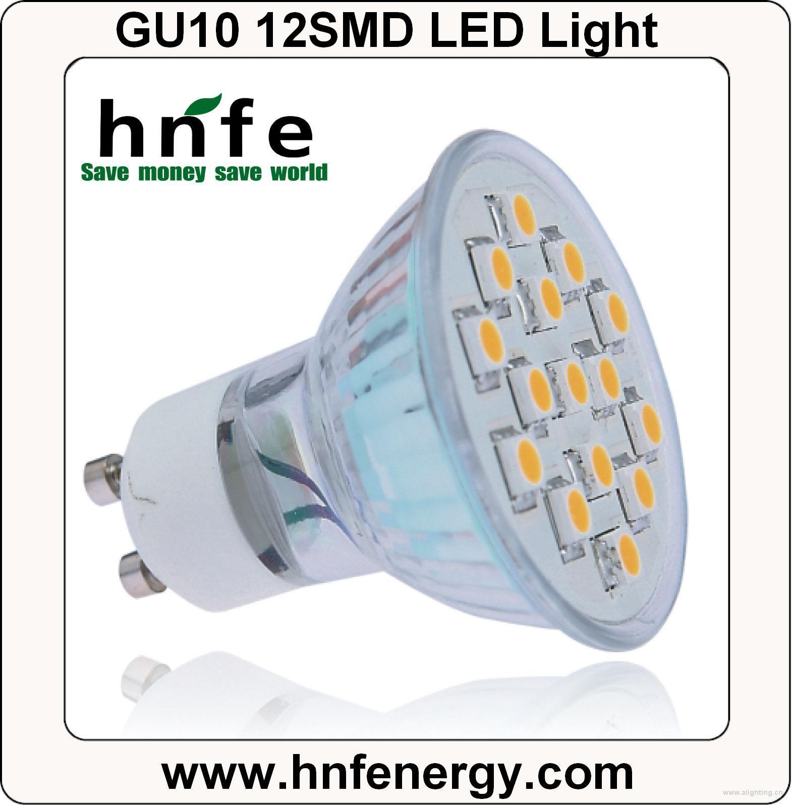 gu10 12smd led light