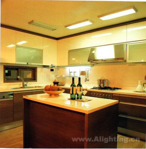 现代化厨房照明设计详解