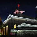 云南大理古城古建筑夜景照明设计规划改造