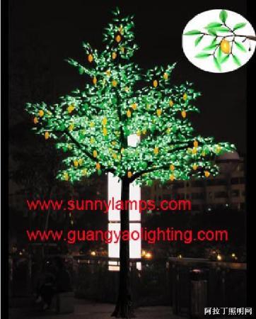 led仿真灯,led装饰灯,led果树灯,梅花灯,桃树灯