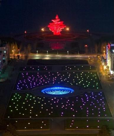 上海儿童医院夜景