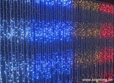 led圣诞装饰彩灯/流水瀑布灯