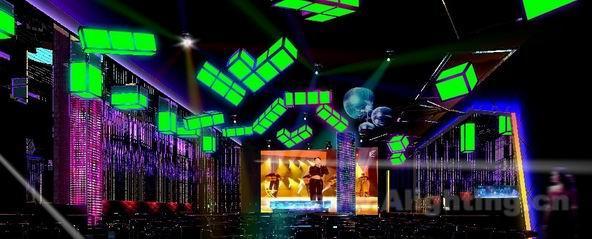 led如何应用于夜总会舞台灯光设计