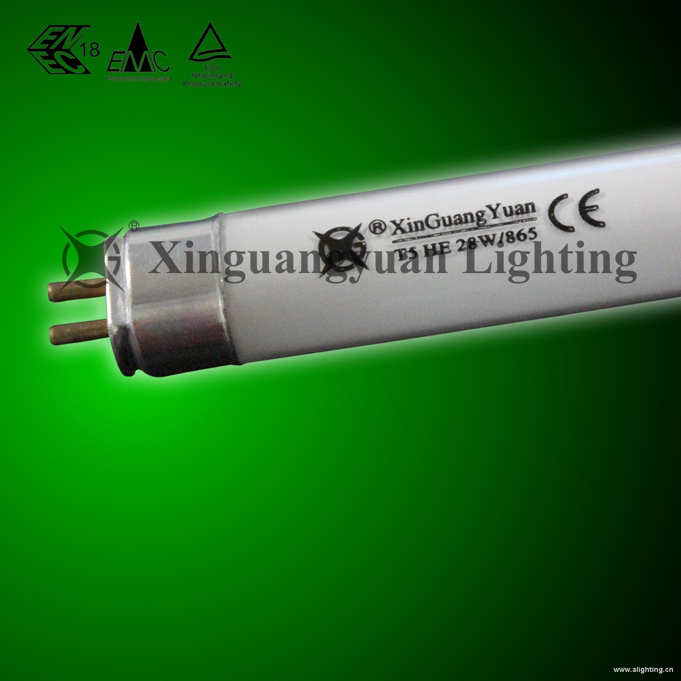 新光源 T5三基色高效节能荧光灯管