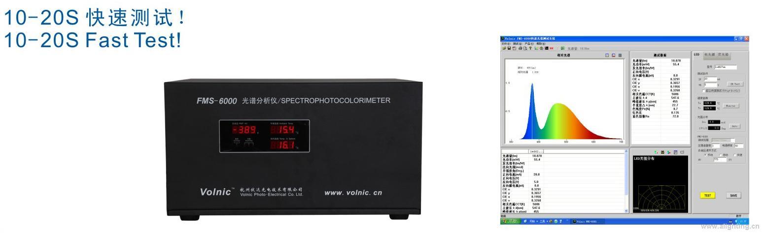 FMS-6000 光谱分析仪