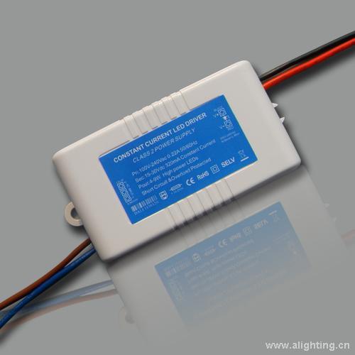 德力普9x1w 外置防水隔离led筒灯驱动电源