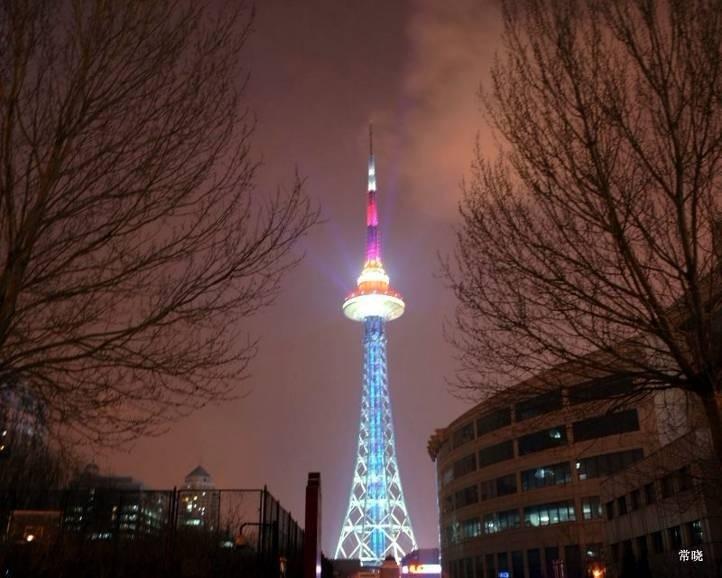 参评案例:哈尔滨龙塔景观照明工程-南昌美霓光环境
