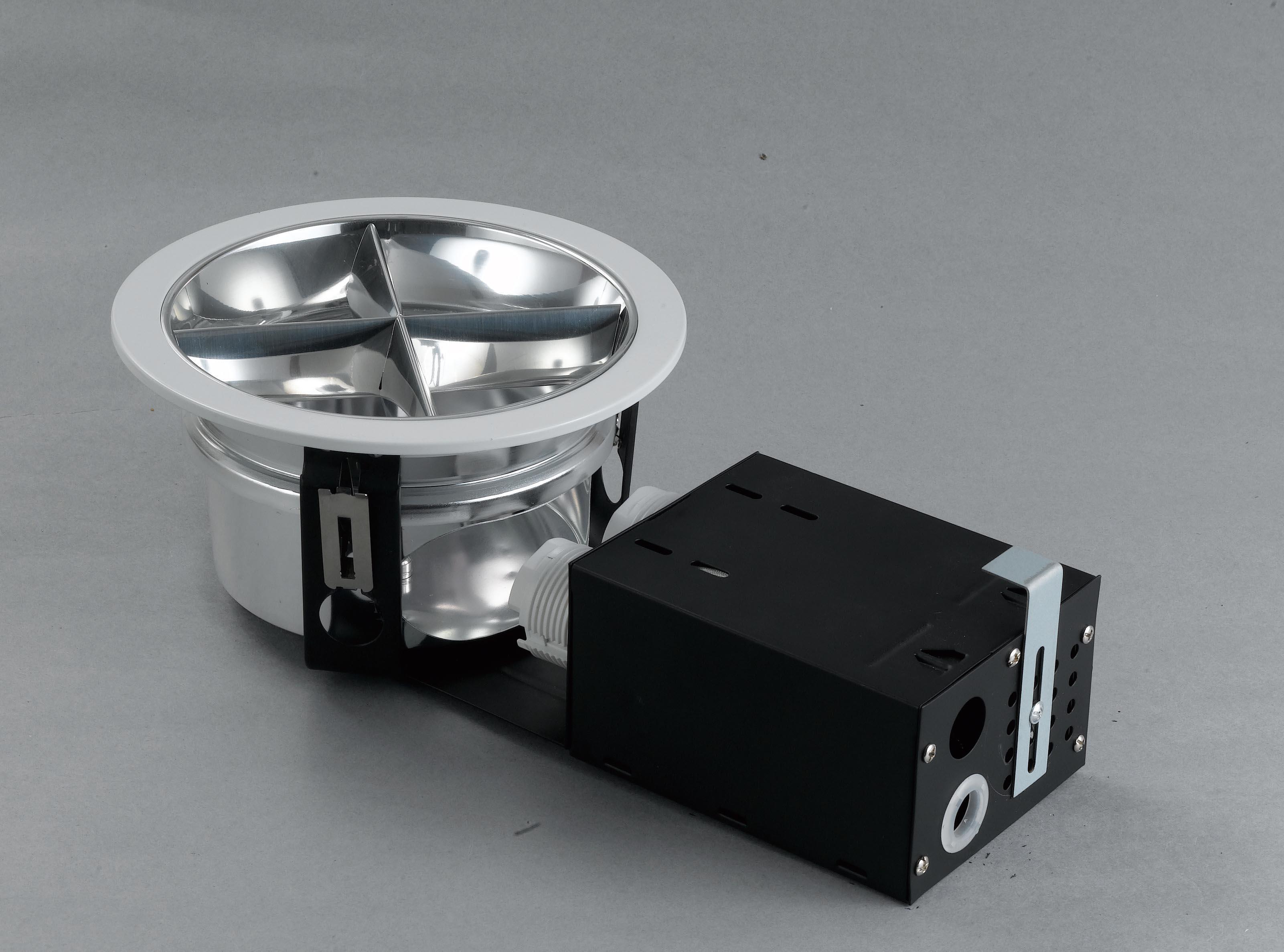 东俊照明 节能横插筒灯 4格栅 6/7/8寸dj1000-6c